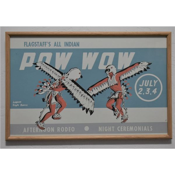 ALL INDIAN POW- WOW  POSTER