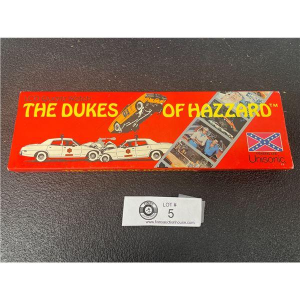 Dukes of Hazard Wrist Watch in Original Box Needs Battery