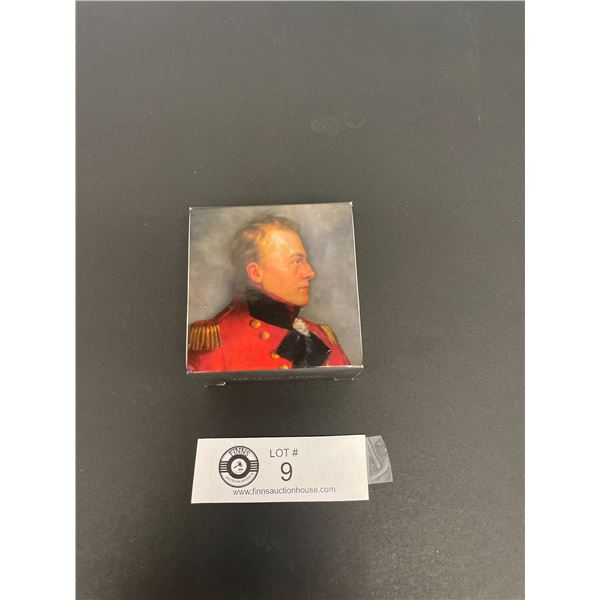 2012 Four Dollar Fine Silver Coin Heroes of 1812 Sir Issac Brock in Original Case