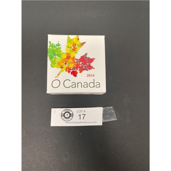 2014 Ten Dollar Fine Silver Coin Oh Canada Bison in Original Box