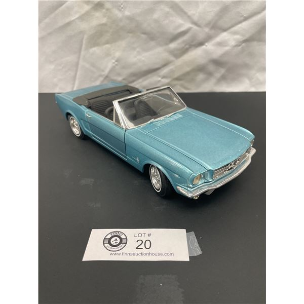 1/18th Scale 1965 Mustang Diecast Car