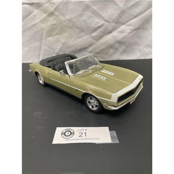 1/18th Scale 1968 Chevrolet Camaro Diecast Car