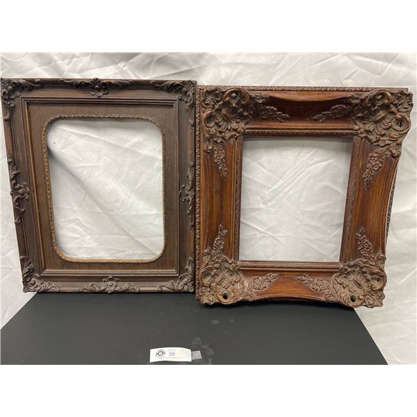 Two Vintage Picture Frames 17 x 20