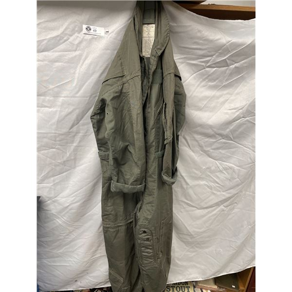 US Military Flight Suit Size 40 Excellent Condition
