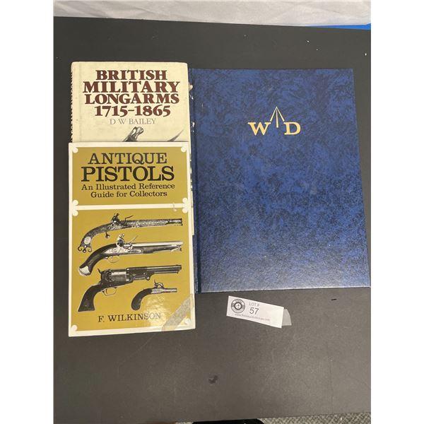 Three Books on British and Antique Pistols