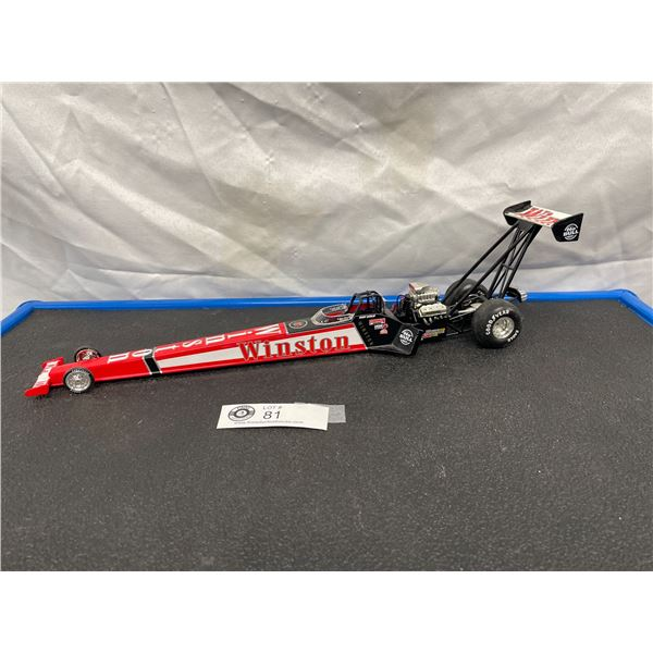 Winston Diecast Dragster Car 16 inches long