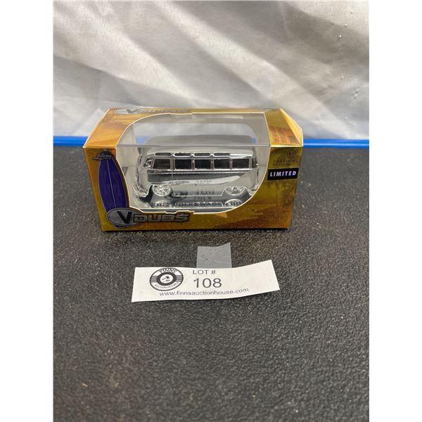 1/64th Scale Vdubs Limited Edition Jada Toys Chrome VW Bus