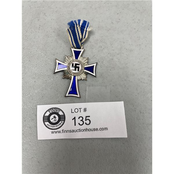 WWII Silver Mother's Cross