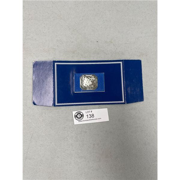 Franklin Mint Ghana Sterling Silver 1 Cent on Board