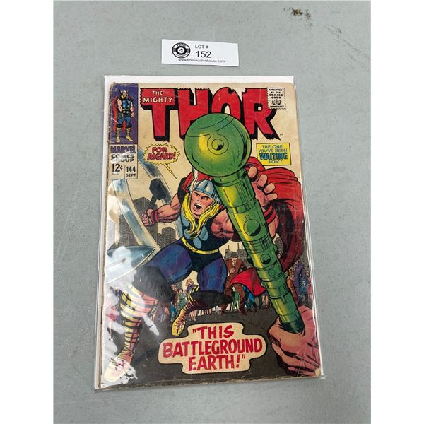 Marvel Comics The Mighty Thor #144 On Board in Bag