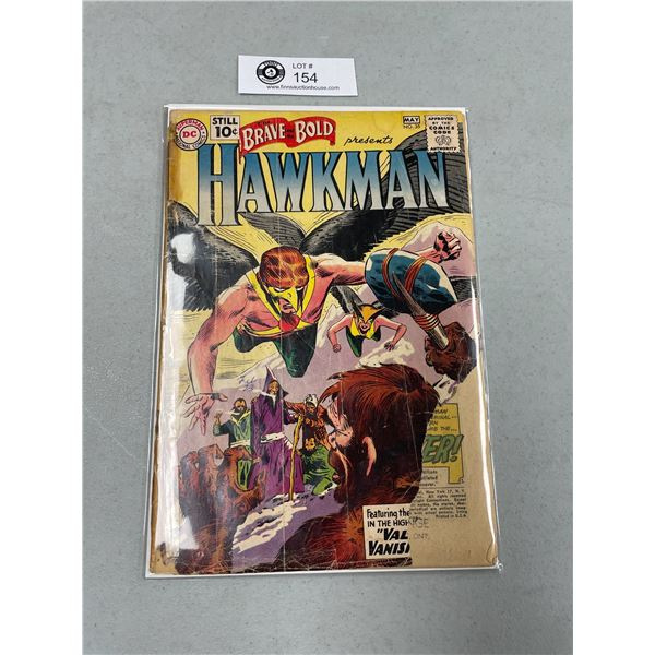 DC Comics The Brave and the Bold #35 2nd Appearance of Hawkman on Board in Bag