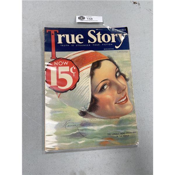 Sept 1932 True Story Magazine Great Graphics