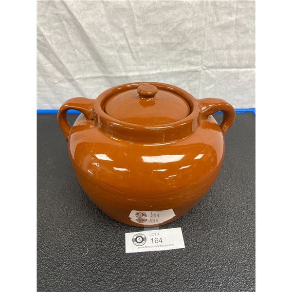 Vintage Alberta Potteries Redcliff Number 3 Bean Pot