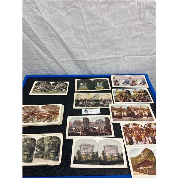 Lot of Vintage Stereoscope Picture Scene Cards