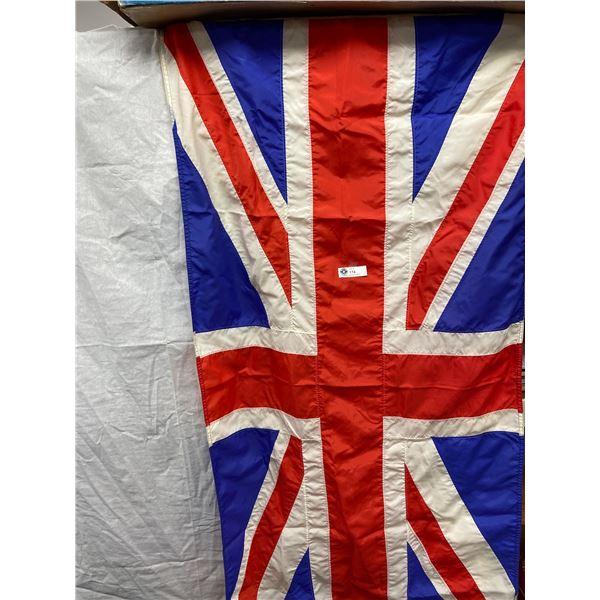 Vintage Nylon British Flag Approx 5.5 x 3