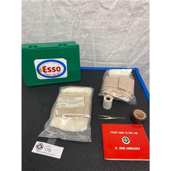 Vintage Esso First Aid Kit