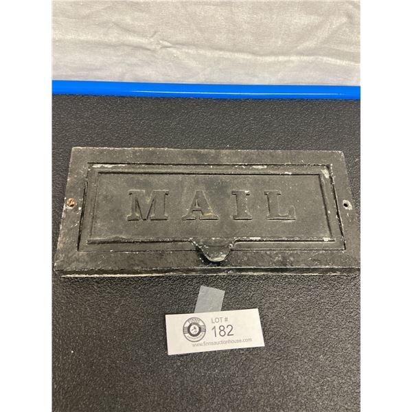 Vintage Mail Slot