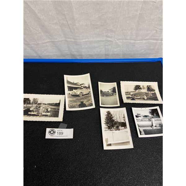 Lot of Vintage Black and White Automotive Photos