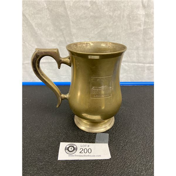 Cup Named to Midshipman A D Drummond Royal Navy