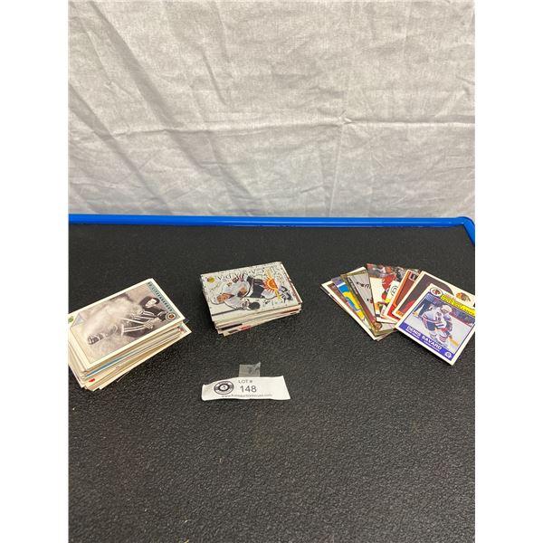 Nice Lot of Vintage NHL Trading Cards 70-80's Chicago Blackhawks