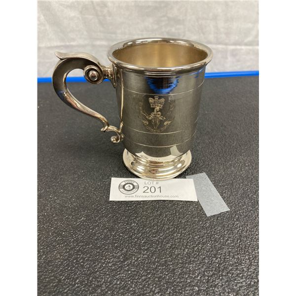 Silver Plate Cup Seaforth Highlanders