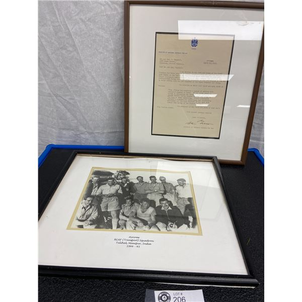 Two Frames Pictures, Document RCAF Burma