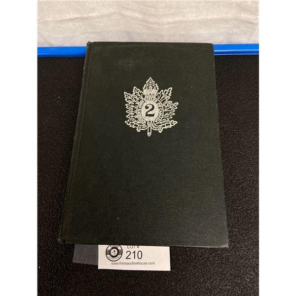 Queens Own Rifles Regimental History Book 1960