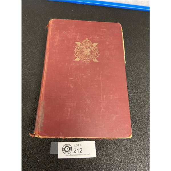 Canadian Scottish Regimental History Book 1958