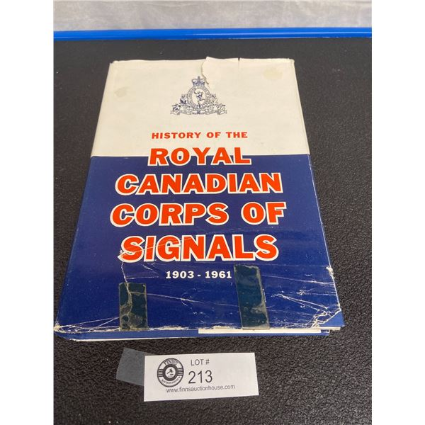 Royal Canadian Corps of Signals Regimental History Book 1962