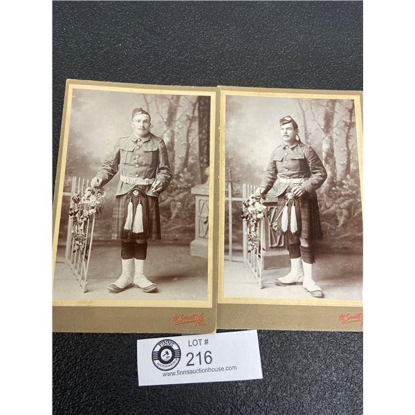 Two British Military Photos 1880's