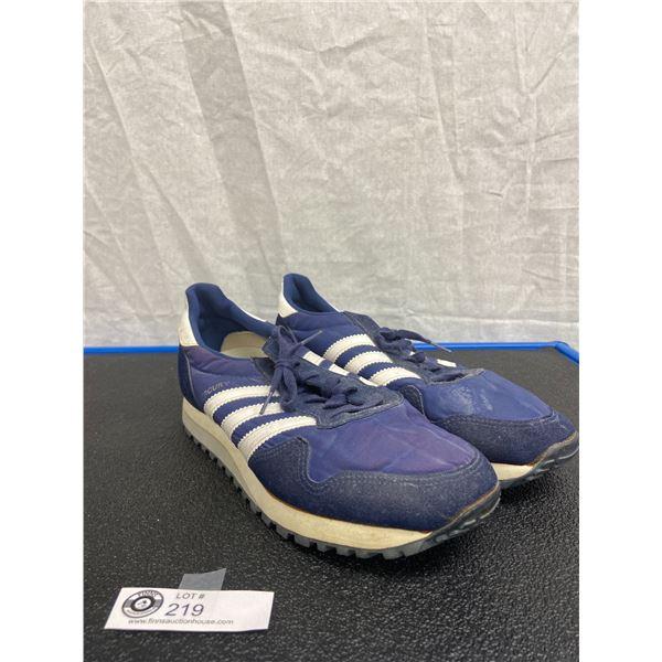 Adidas Pair of Shoes, Blue Mercury