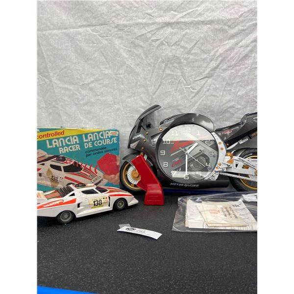 Vintage 1992 Radio Shack Sonic Controlled Lancia Racer 27 in Box Comes With Directions and a Power 5