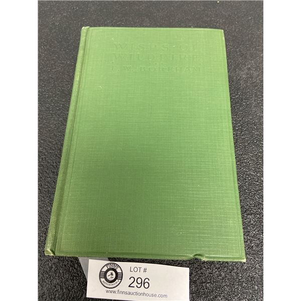 Wisps of Wildfire by  FW Boreham, The Abingdon Press, 1924 Hardcover, Nice Condition