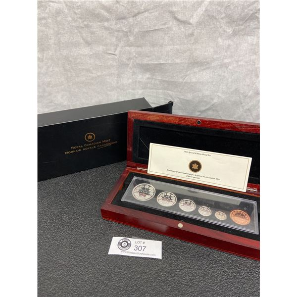 2011 Special Edition Coin Set in Presentation Box. All Coins Silver except the Large Penny