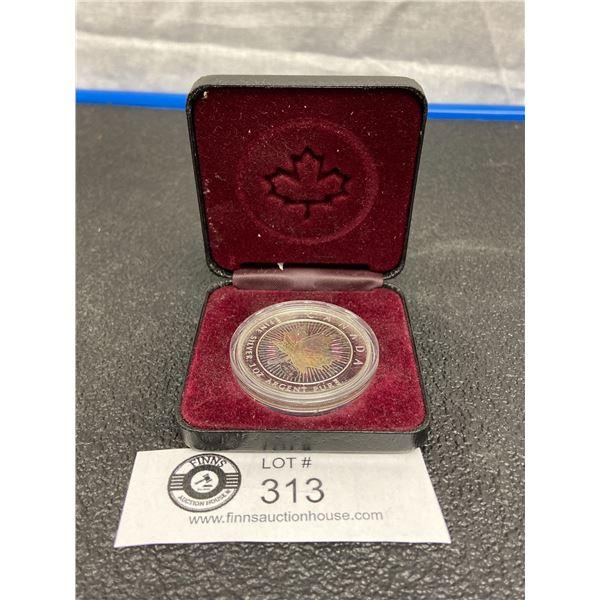 2001 $5 Silver Maple Leaf 9999 Silver