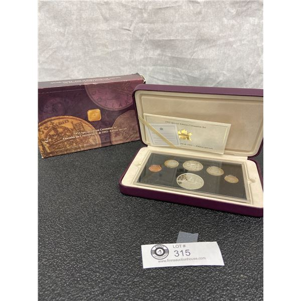 1953 Special Edition Coronation Set All Coins Silver Except Penny. In Original Box