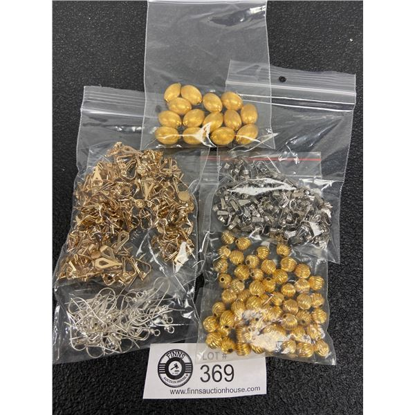 Lot of 5 Jewellery Making Supplies, Spacers, Etc