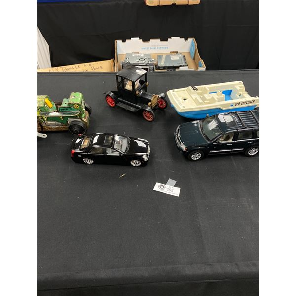 Vintage Toy Lot and Diecast Vehicles