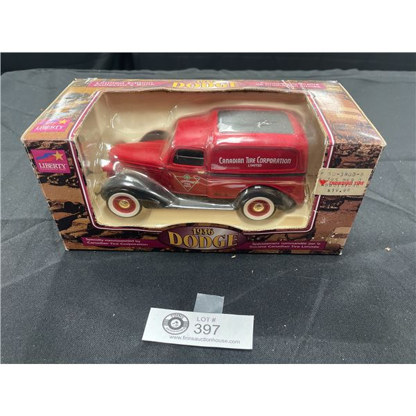 Limited  Editon Dodge 1936 Die Cast Car Canadian Tire Corporation Still Sealed in Package