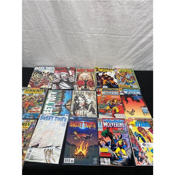 Lot of 15 Vintage Comics