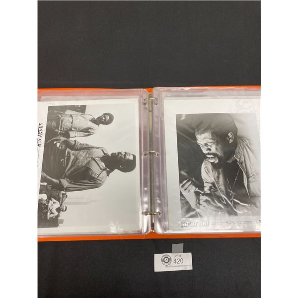 Binder Full of Movie Picture Cards