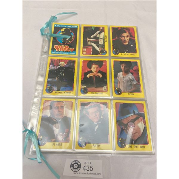 Twelve Sleeves of Dick Tracy Trading Cards