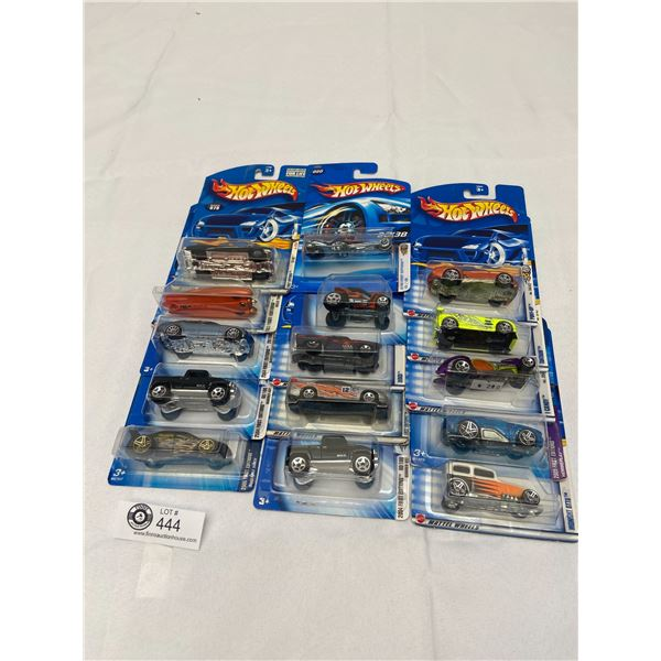 Lot of 15 Hot Wheels Still Sealed In Original Packages