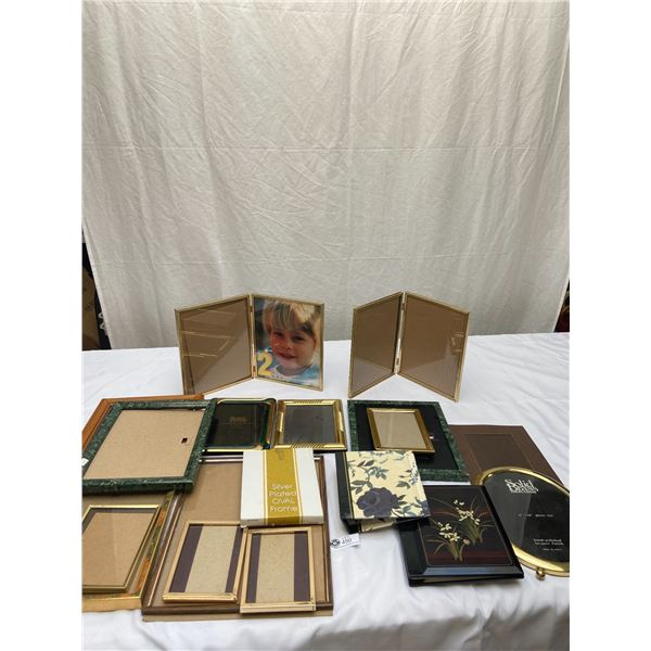 Nice Box Lot of Picture Frames
