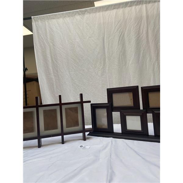 2 Decorative Picture Frames