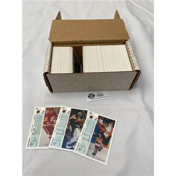 Box Lot of NHL 1990-91 Hockey Cards