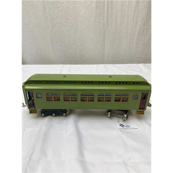 Large Passenger Train Car with Great Detail Inside and Out