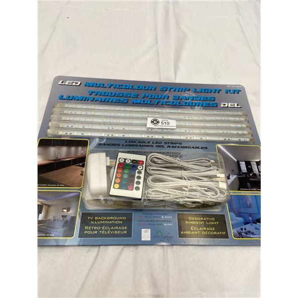 LED Multi Colour Strip Light Kit. Brand New Still Sealed In Package