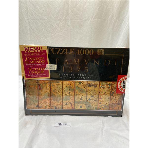 4000 Piece Puzzle Mapamundi 1375 Still Sealed In Original Box