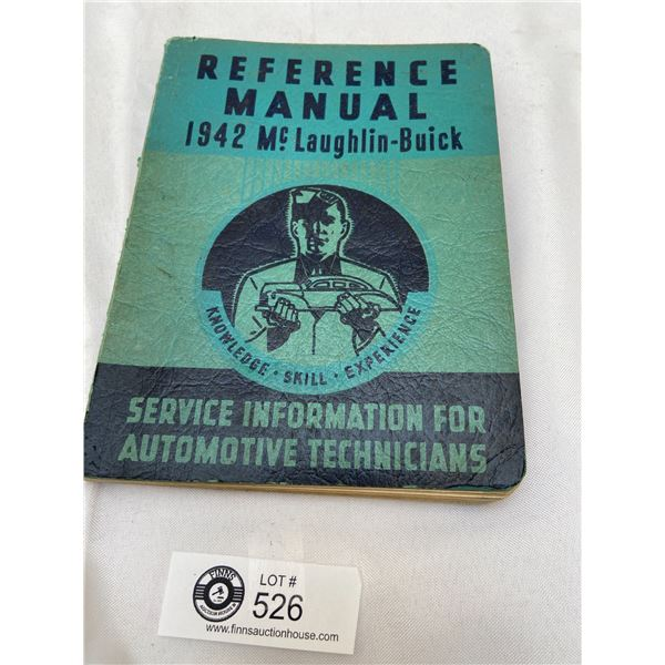 1942 McLaughin Buick Reference Manual